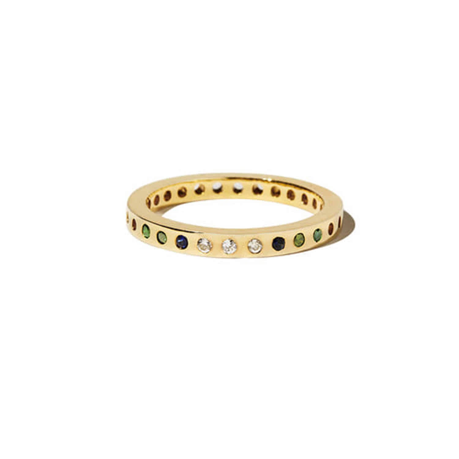 Fill The Dots_Yellow Gold