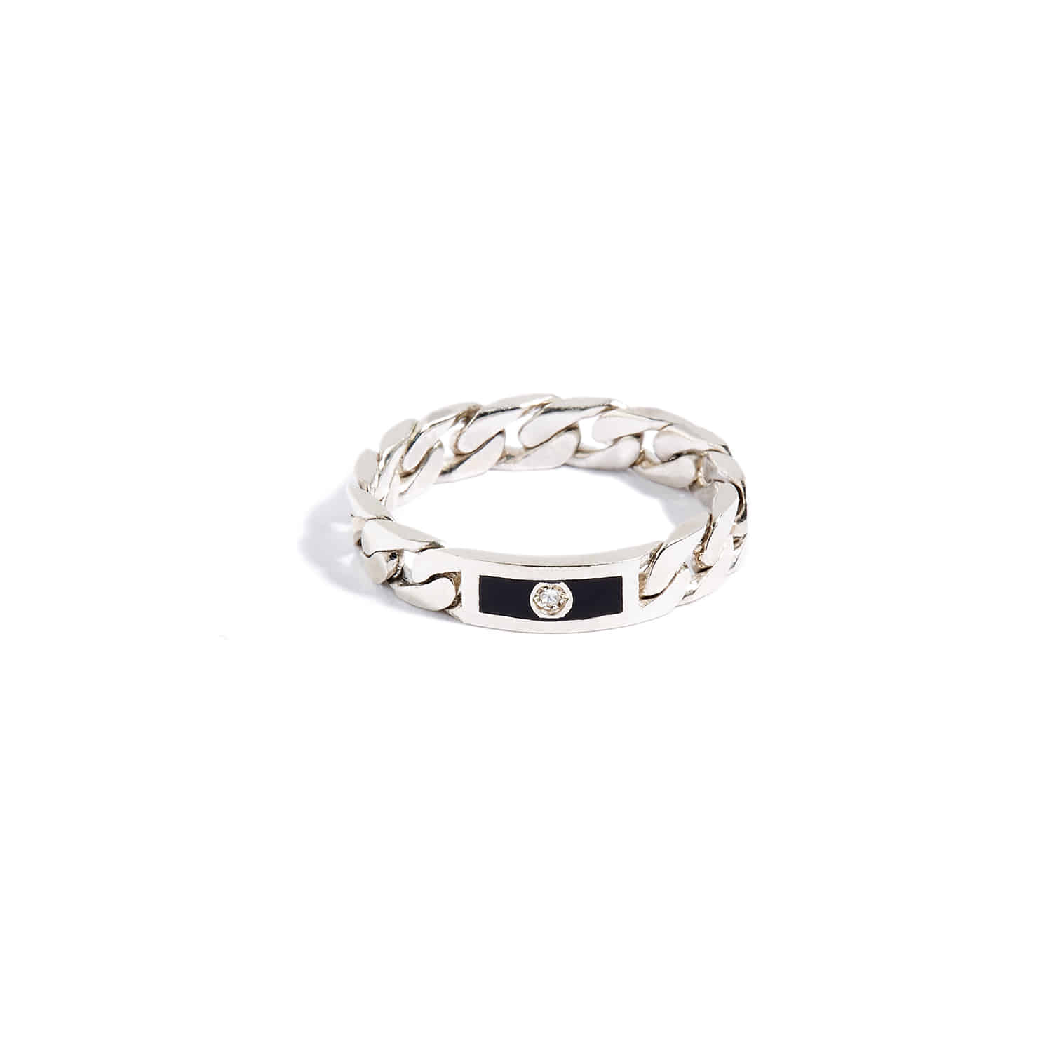 Identity Ring_All silver