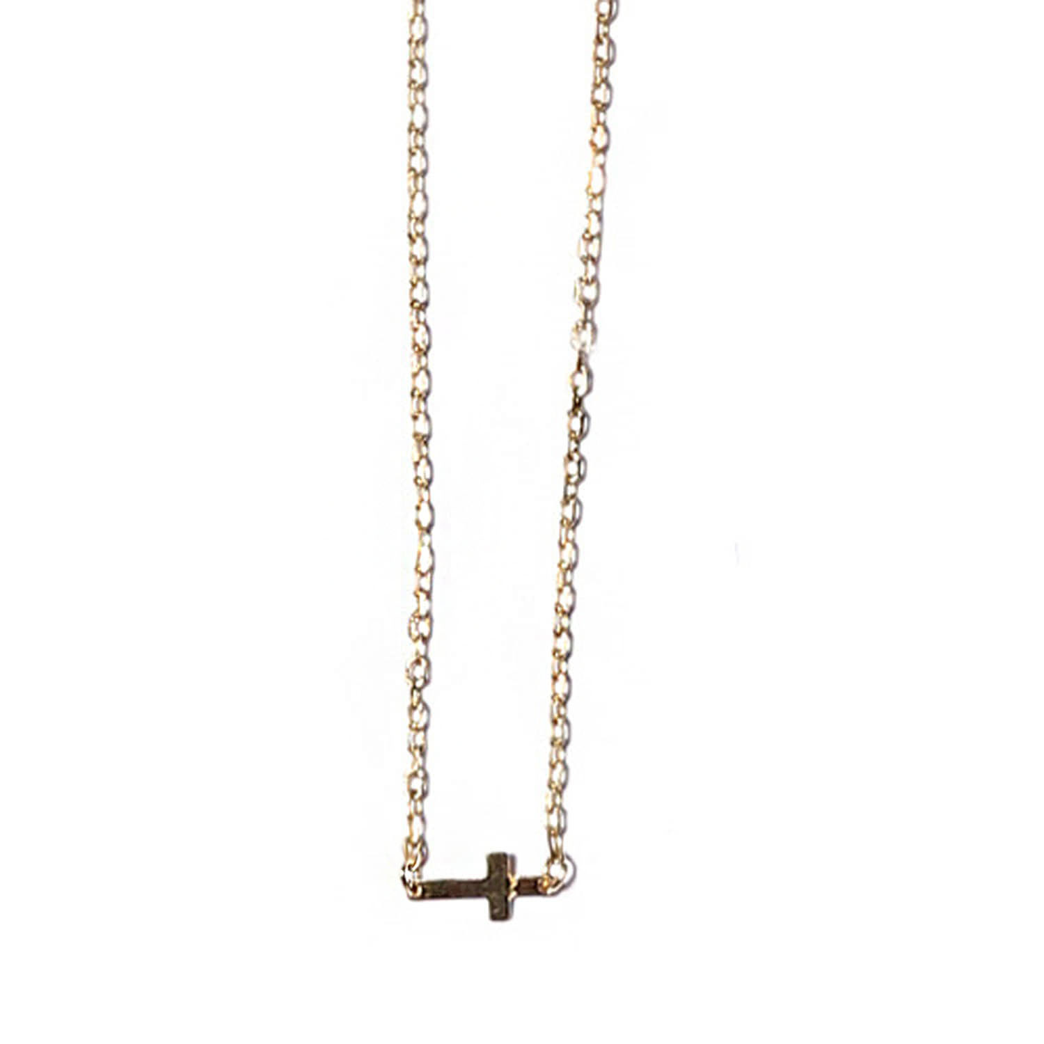 Plain gold cross